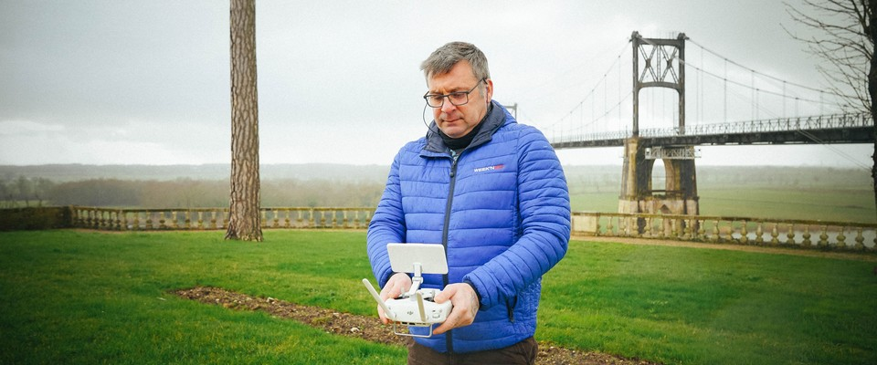 Portrait de Philippe, photographe, vidéaste et pilote de drones