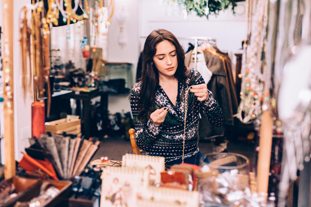 entrepreneur de bijoux fantaisie